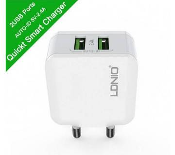 LDNIO Wall Charger A2201 2.4A Travel charger Dual