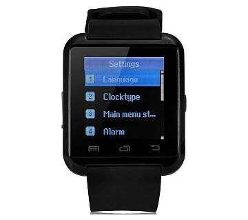 U8 ব্লুটুথ স্মার্ট ওয়াচ রিস্ট ওয়াচ ফোন কল রিসিভার উইথ টাচ স্ক্রীন ফর  Android OS and IOS