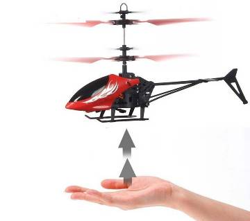 Flying Helicopter with LED Head