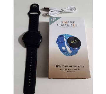 117 Plus Smart Band Colorful Screen Blood Pressure Heart Rate Monitor
