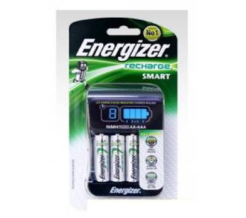 Energizer Smart Battery Charger CHP-42 With 4 Rechargeable Battery