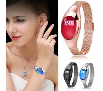 Z18 Bracelet Blood Pressure Heart Rate monitor smart watch