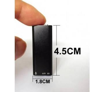Mini Voice Recorder 8GB Black