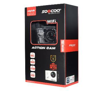Anytek SOOCOO C20 Full HD 1080p Wifi Sports Action Camera 2.0 Inch HD LCD Screen 170 Degrees Wide Angle 60M Waterproof Outdoor