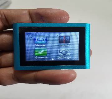 X01 Full Touch Display Mp4 Player 8GB Memory FM