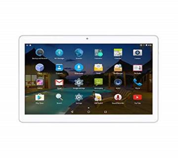 Logicom 10 inch Wifi Tablet Pc 1GB RAM IPS Display Free lather Cover Metal Body