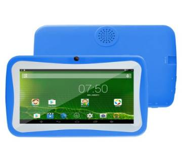 E89 Kids Wifi Tablet Pc 1GB RAM Dual Camera Free Cover Orange