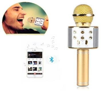 Bluetooth Microphone WS-858 Karaoke With Voice Change Option