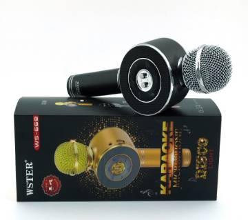WSTER WS-668 Bluetooth Karaoke Microphone Disco Light