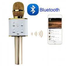 Q9 Bluetooth Microphone Karaoke Speaker