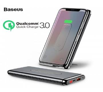 Baseus Wireless Charger Qi Power Bank 10000 MAh 15W Type-C