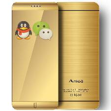 Anica A7 Card Phone Dual Sim & Bluetooth Phone