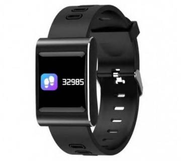 K88 Plus Smart Watch Color Monitor Water-Proof - BLACK