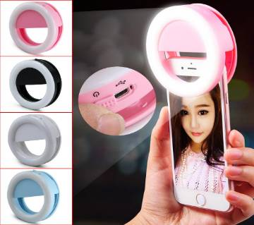 Selfie Ring Light Lamp For Phone Rechargeable