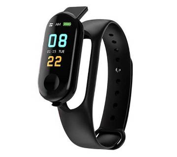 M3 Smart Band Color Monitor Waterproof Heart Rate Monitor Pedometer