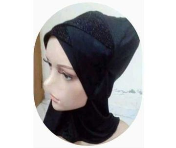 Zigzag glitter cap For Women