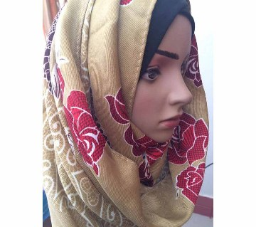 Pashmina hijab with stone work