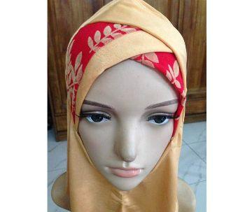 Zigzag cap Hijab
