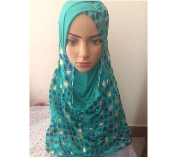 Double layered hijab