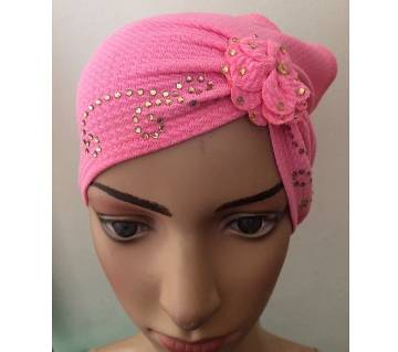 Stone and floral setting tube cap
