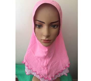 Double layered ready hijab