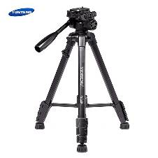 YUNTENG VCT-668 Professional Tripod with Damping Head Fluid Pan for SLR/DSLR Camera
