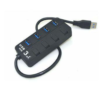 4 পোর্ট USB 3.0 হাব উইথ সুইচ