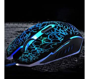 7 Colors LED USB Wired 3D Gaming Mouse