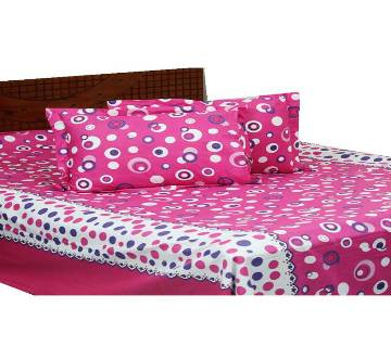 Cotton double size bedsheet set