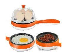 egg boiling cum frying pan