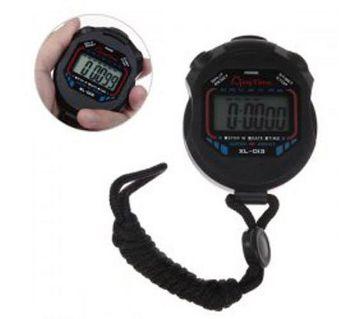 chronograph digital sports stop watch