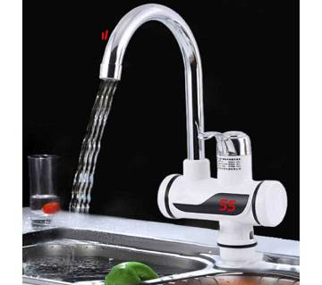 Instant LED hot water tap
