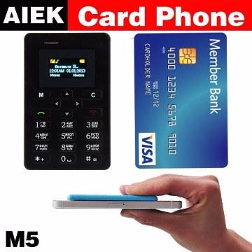 AIEK M5 মিনি কার্ড ফোন (1 টি)