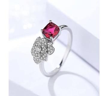Rose Shaped Finger Ring