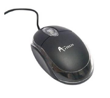 A.Tech USB Optical Mouse - Black