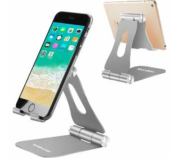 Cell Phone Stands Portable, YOSHINE Adjustable Tablet Stands: Desktop Aluminum Stand Holder Dock Compatible for iPad 2018 Pro 9.7, 10.5, Air Mini 4 3
