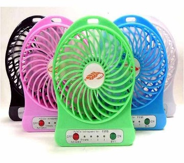 USB mini rechargeable fan 1 pc