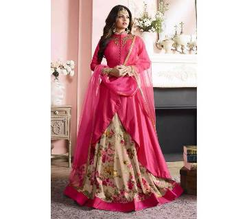 Indian unstitched georgette replica long suit
