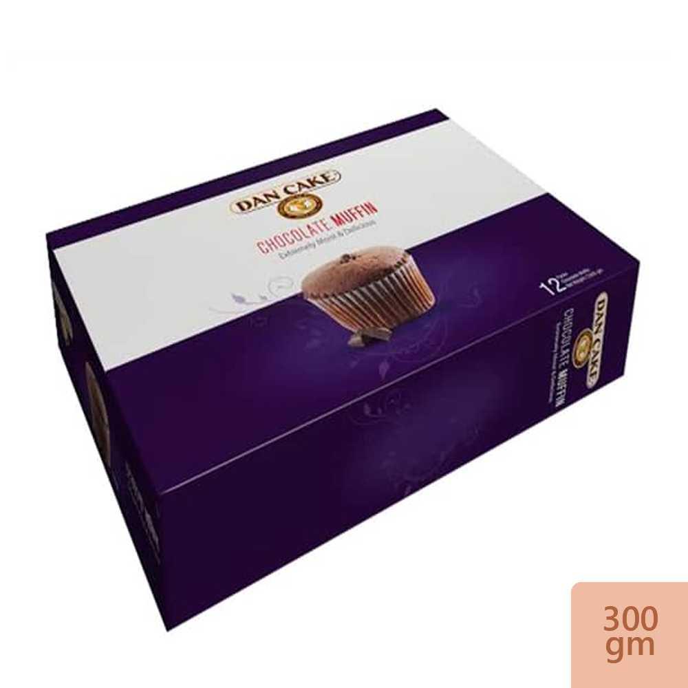 Dan Cake Chocolate Muffin 12 packs 300 gm