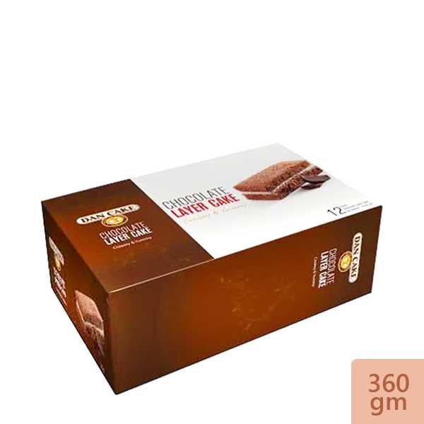 Dan Cake Chocolate Layer Cake 12 pack 360 gm