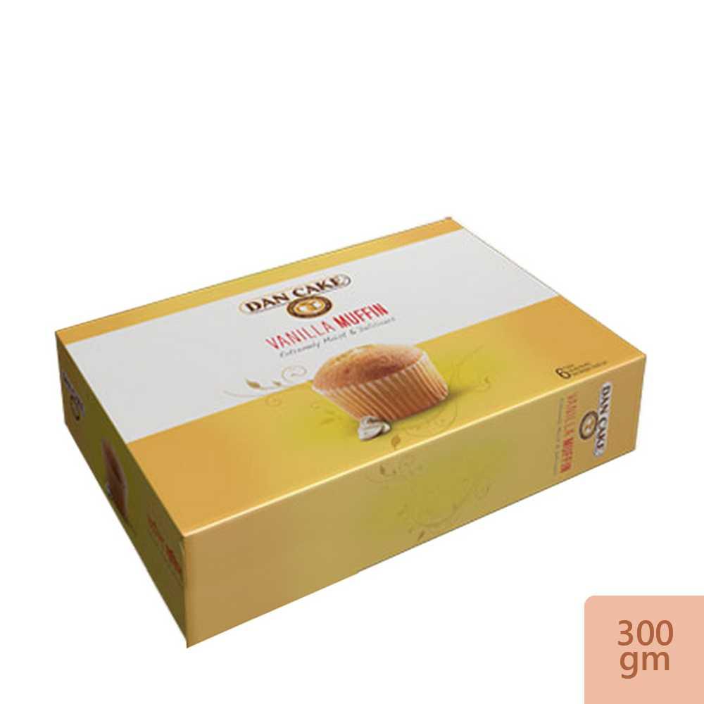 Dan Cake Vanilla Muffin 12 packs 300 gm
