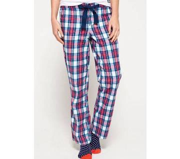 Multi-color Cotton Trouser for Women