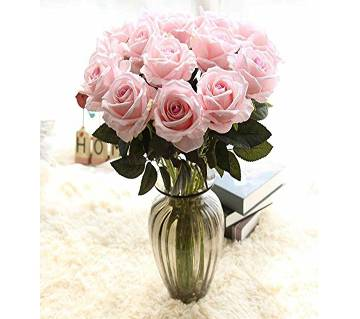 Pack of 12pcs Artificial flowers Rose