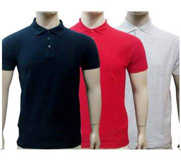 3 Combo Mens Polo Shirt