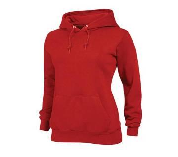 Ladies Full Sleeve Cotton Hoodie