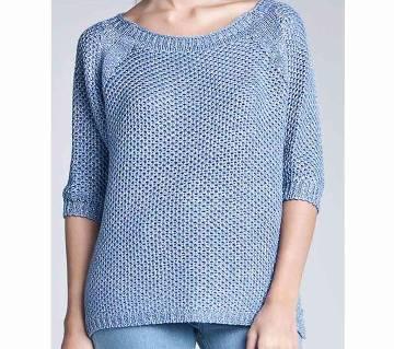 Ladies Stylish Cotton Sweater