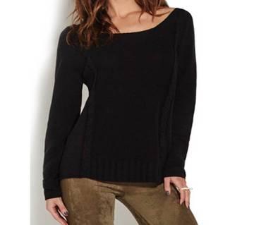 Ladies Full Sleeve Cotton Sweater
