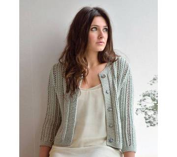 Ladies Cotton Short Sweater