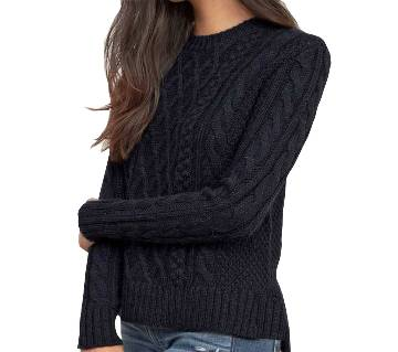 Ladies Full Sleeve Cotton Sweater