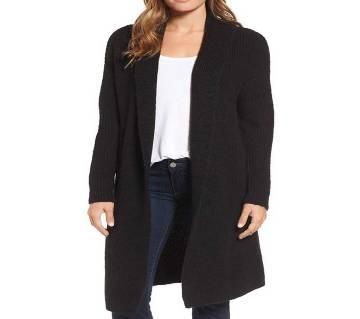Ladies Full Sleeve Cotton Long Sweater